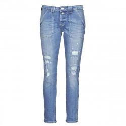 Jeans boyfriend femmes Le...
